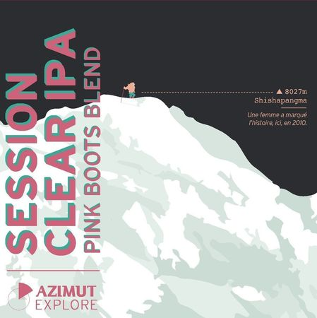 Session Clear IPA Azimut 33 cl canette