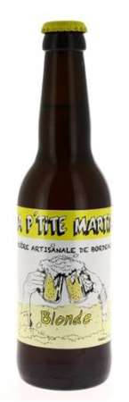 Blonde La p'tite martiale 33 cl