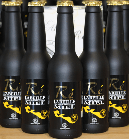 "Blonde au miel ""Abeille Ré"" 33 cl"