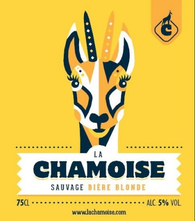 Blonde sauvage Chamoise 25 cl