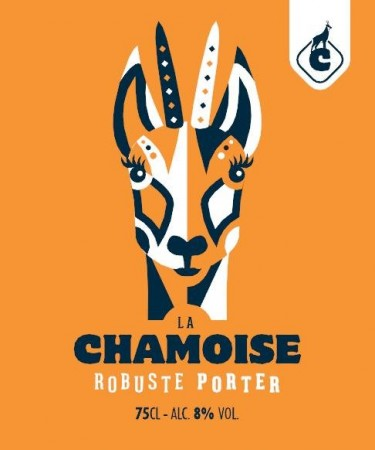 Robuste Porter Chamoise 33 cl