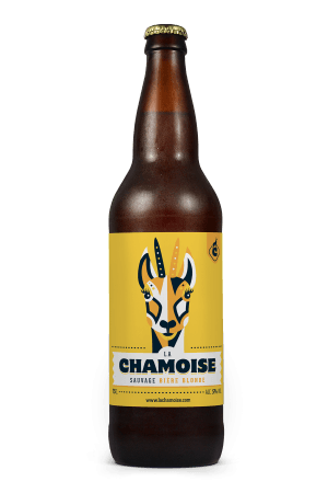 Blonde sauvage Chamoise 75 cl