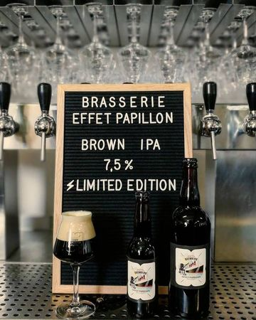 Brown IPA Effet Papillon 33 cl