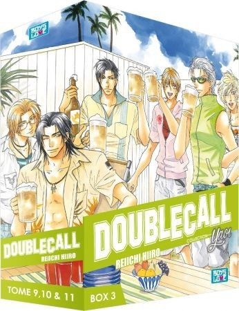 Double Call  intégrale 3 coffrets 11 tomes occasion état comme neuf