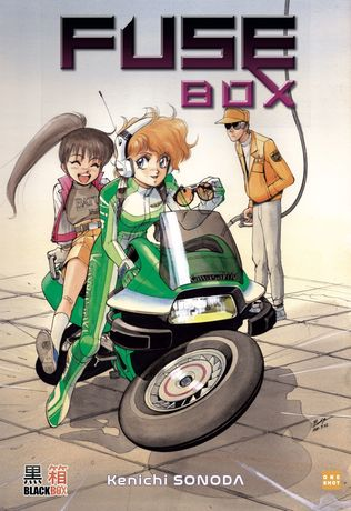 SONODA KENICHI Fusebox EDITION COLLECTOR  350 pages