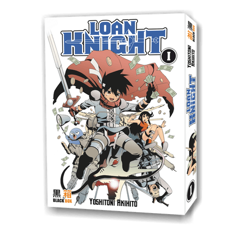 LOAN KNIGHT  pack intégrale 5 tomes 2000 pages  (occasion tres bon état)