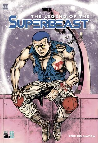 TOSHIO MAEDA The Legend of the Superbeast one shot EDITION LIMITÉ