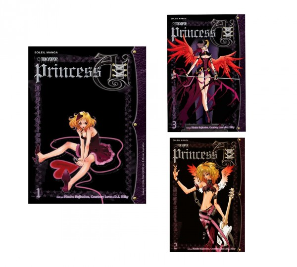 Princess Ai PACK INTEGRALE 3 TOMES
