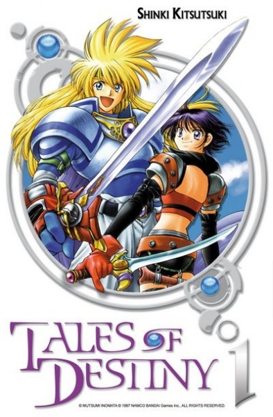 Tales of Destiny INTEGRALE 6 TOMES OCCASION COMME NEUF