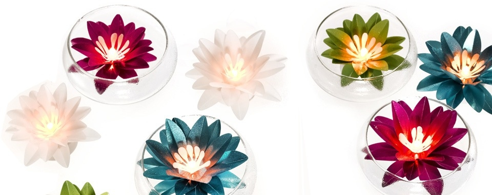Small LED lotus