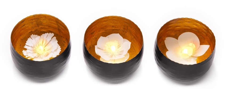 Camellia, a charming LED flower