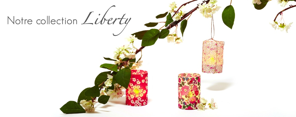 Bougie led, Collection Liberty style