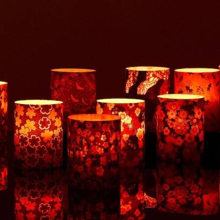 led japanese candle holder # 10