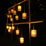 led japanese candle holder # 13