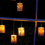 led japanese candle holder # 5