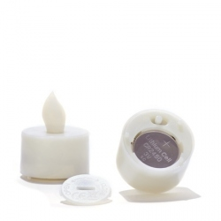 Set of 3 candle holders - Japanese paper #2 - H 6,7 cm