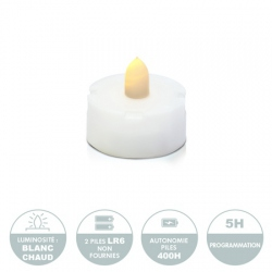 LED Candle Holder for DIY  - H11.5cm