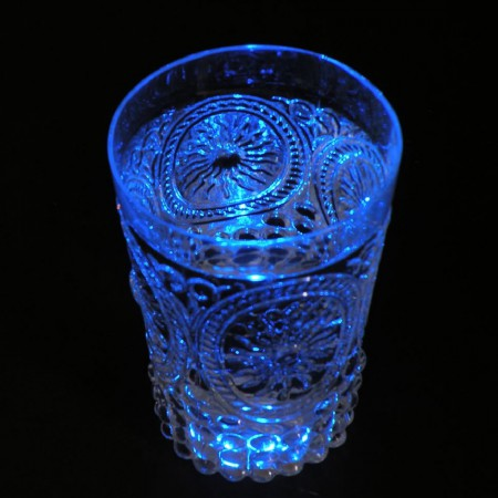 18 LED stickers - blue