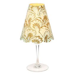 3 lampshades for wine glass - arabesques