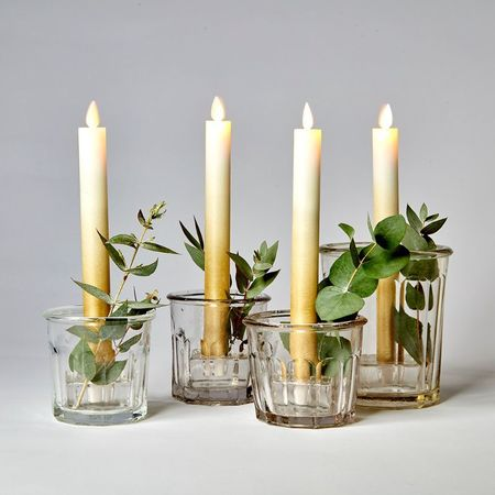 Small square candle-stand
