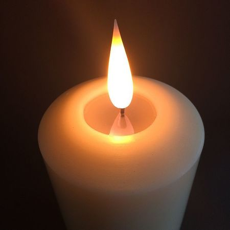 High-end LED wax candle - H20CM