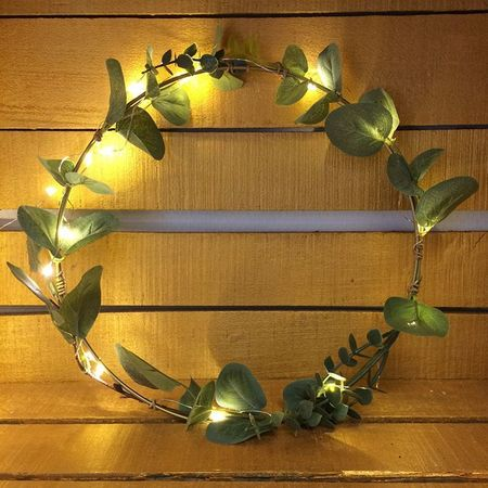 Eucalyptus with fabric leaves - H 92 cm