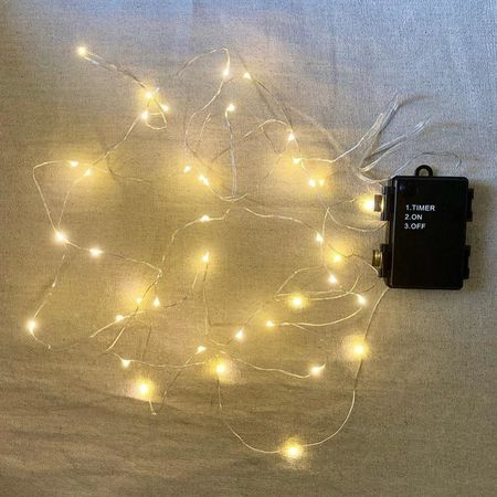 40 led lights string with 6 h timer - In & outdoor