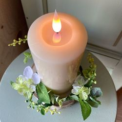 High-end LED wax candle - H31CM