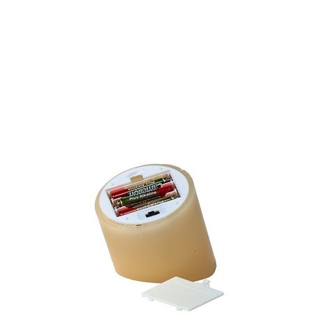 """Small wax led candle - """" Have a nice day """" and a dove"""