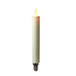 LED moving flame taper candles