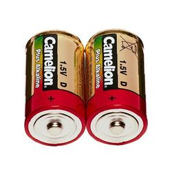 Pack of 2 alkaline D/LR 20 batteries