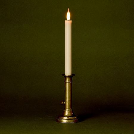 High-end LED wax taper candle - H26CM