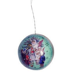 Paper Christmas Bauble - Angels #2 - Ø 10cm