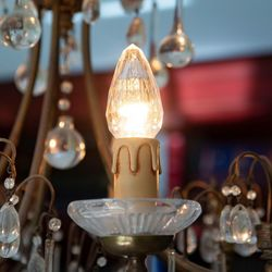 LED Cristal light bulb for chandeliers