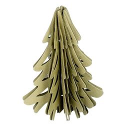 Large Christmas Tree in recycled paper - H 13 cm