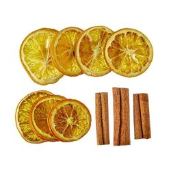 Pack of orange slices and cinnamon bats