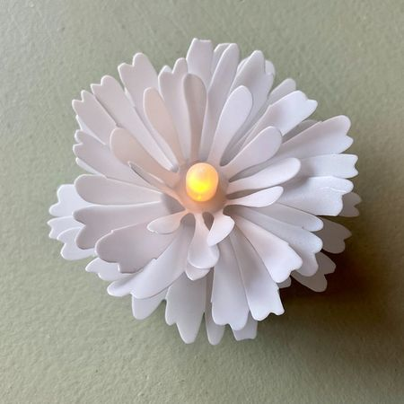 The LED luminous flower - White DAISY
