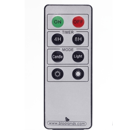 Remote control for Bloolands TLight ø 5,5 cm