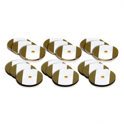 18 LED stickers - gold