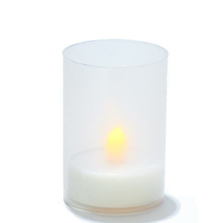 LED candle holder for DIY - H 9 cm