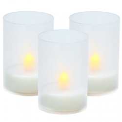 3 candle holders for DIY - H 9 cm