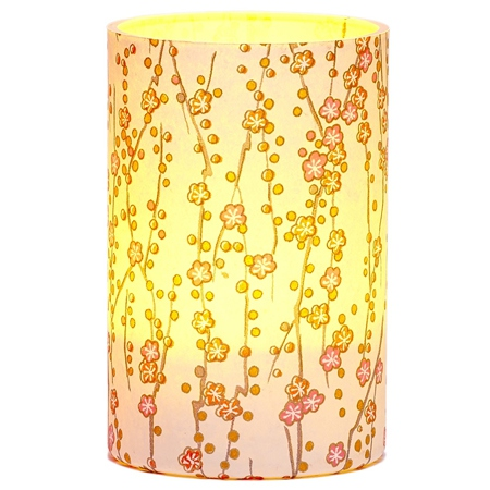 LED Small Flowers Candle Holder - H11.5cm