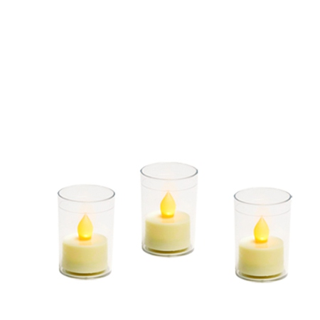 3 candle holders for DIY H 6,7 cm