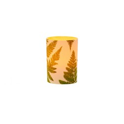 LED candle holder Fern - H 6,7 cm