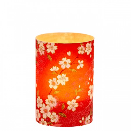 LED candle holder Cherry Blossom - H9cm