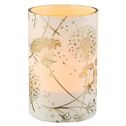 LED candle holder Dandelion - H11.5cm