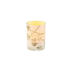 Small LED candle holder Dandelion flower - H 6.7CM