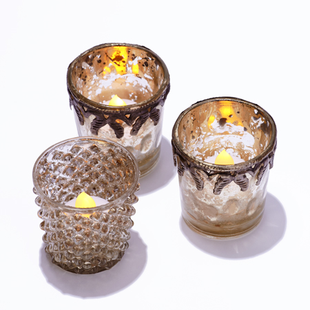 bougie led flamme blanche