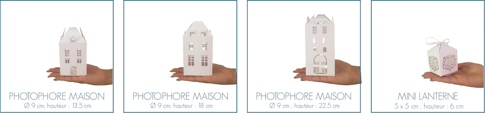 taille photophores maisons lanterne