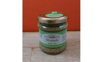 Moutarde persil-ail - 195g